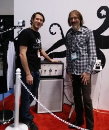 With Joe from EarthQuaker Devices the designer of the new Sound Projector 25.