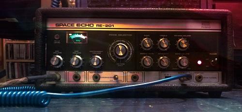 SBS Space Echo RE201 Blue Lava