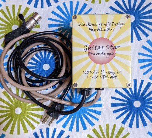 Blackmer Guitar Star Power Supply